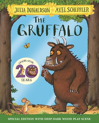 Book cover for The Gruffalo 20th Anniversary Edition